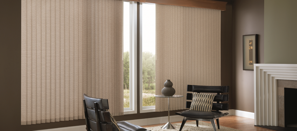 Vertical Blinds Winnipeg PVC Verticals Fabric